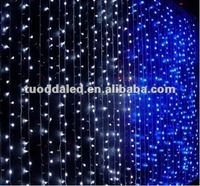 LED Holiday lighting led curtain wall changing color lights