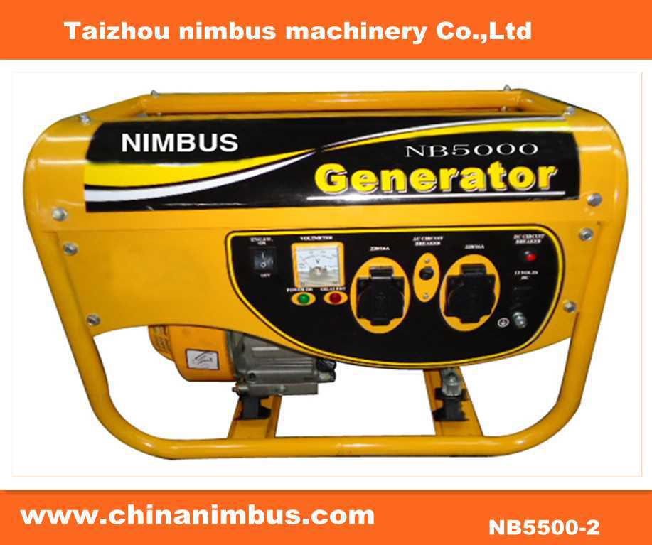 Small Power gasoline genset hard cover for generator