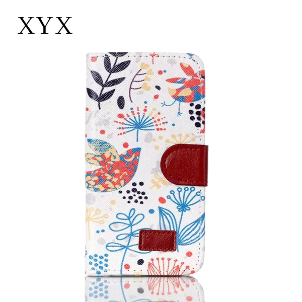 leather case for sony xperia c5, anime case for xperia c5, second generation painting case