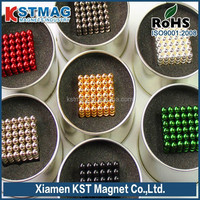 Colorful Ball Neodymium Magnet with high performance