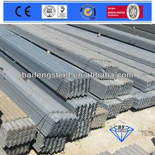 black and galvanized angle iron angle steel steel beam