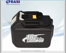 Spare parts rechargeable battery , lithium 6.0 Ah battery for makita BL1830 BL1835