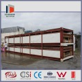movable prefab flat pack container houseing for sale