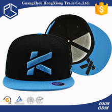 Guangzhou producer 6 panel cotton twill fabric with 3d embroidery basketball snapback cap