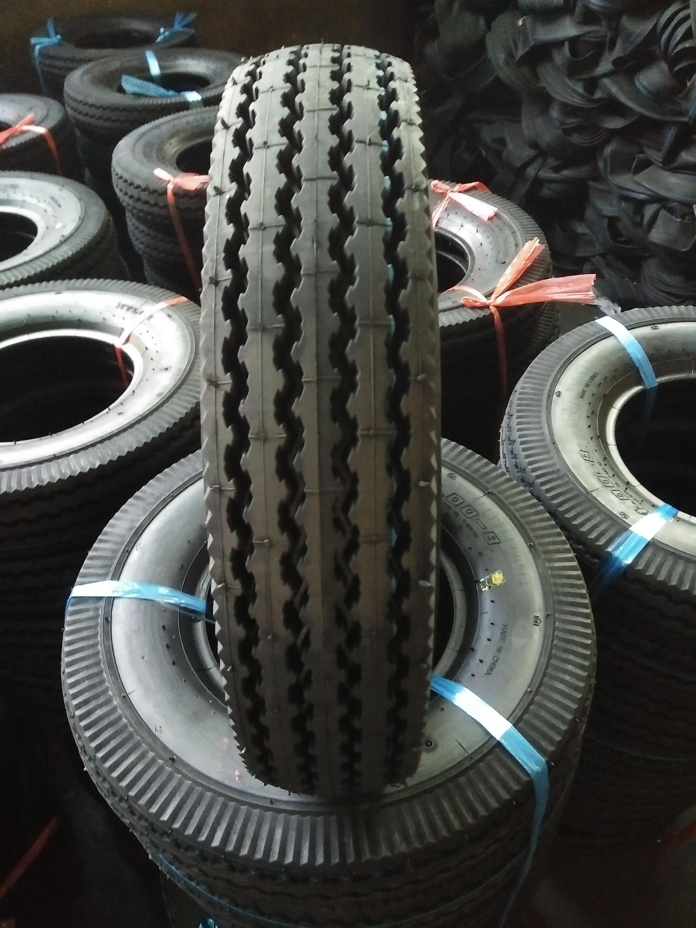 400-8 full size MRF motorcycle tyre