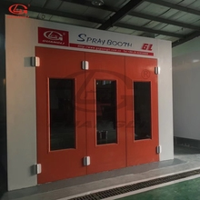 Car Painting Room Spray Booth With Strong Wall Panels