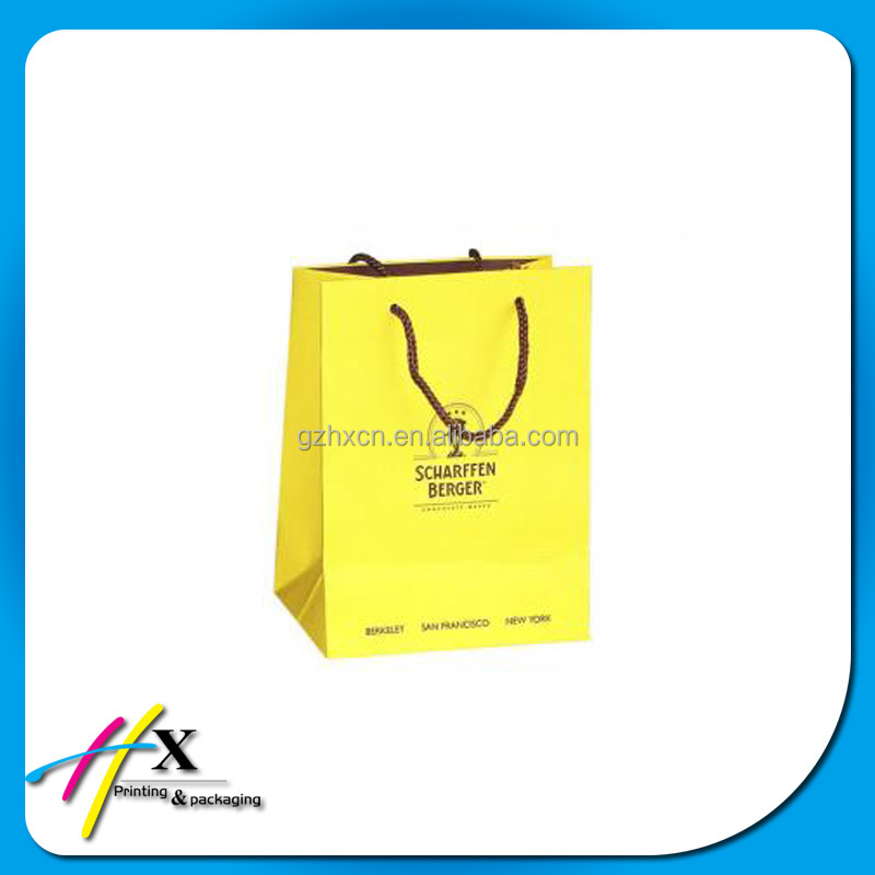 high quality t shirt packaging paper bags welcome customized