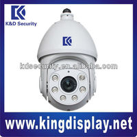 "1/3"" Sony CCD D1 Water-proof IR PTZ Dome Camera, 3D positioning supported"
