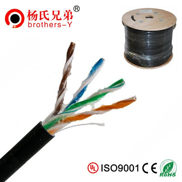 UTP cable cat5e bare copper 4p cat 5e outdoor cable