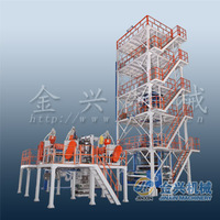 RSM ldpe shrink film blowing machine