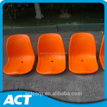 Fixed seating blowing plastic stadium seat with good quality