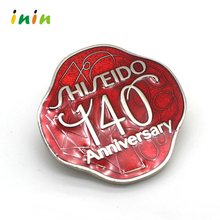 Die cast metal pin badge with your own design, custom university badge with engraved logo