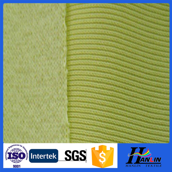 2015 alibaba china textile manufactures 100% polyester tricot brushed sofa lining fabrics
