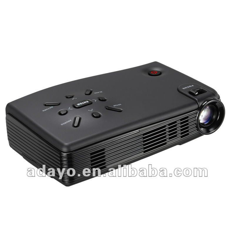 LED Android System Mini Projector HD 1080P 1024*600