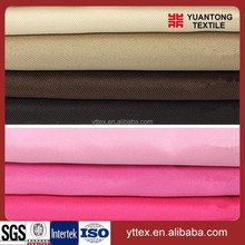 2015 new products 65 polyester 35 cotton twill fabric for school/medical uniform