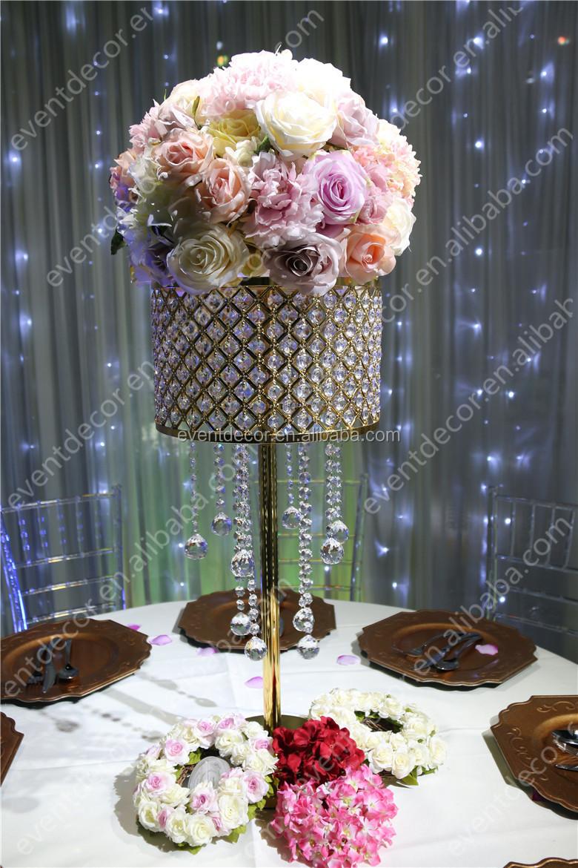 Bling Crystal Centerpieces Gold Wedding Centerpieces