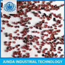 Good qualified Hardness 8.0 garnet sand 80 mesh for surface oxide layer removal