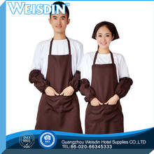 Full waist Guangzhou wholesale kitchen blank 100% cotton apron