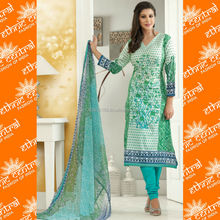 ETHNIC CENTRAL's indian cotton bandhani printed dress materials salwar kameez suits manufacturer in jetpur india