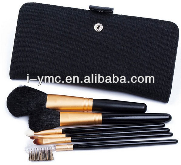 PRO Synthetic Hair make up tools kit Cosmetic Beauty Makeup Brush + Case Bag