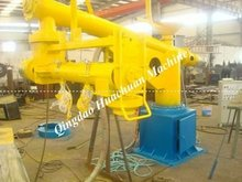 European Dedicated double arm continuous resin sand mixing machine/sand mixer