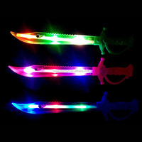 3170704-35 party favor electric glow stick in cute shark sword shape
