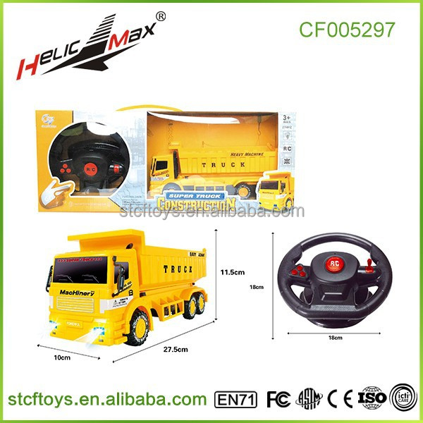 1/24 4ch rc container truck universal rc car remote control toy