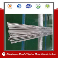 seamless grade 5 ti-6al4v astm b338 titanium capillary tube/supply of leading products