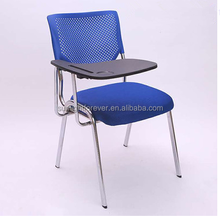 Plastic Chair Salon Chair Folding Chair With Writing Pad Tablet