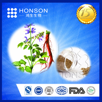 Herb medicine reduce blood pressure high quality of 8% salvianolic Acid B CAS No.: 115939-25-8