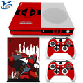 Hot sold Customized Design Skin For XBOX One Slim Console Controller Decal Vinyl Sticker