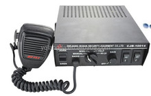 100W dc12v/24v Electronic Siren Amplifier Police Car Siren and Speaker
