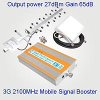 3G Bi-directional signal amplifier , 3G indoor mobile repeater , WCDMA 2100mhz cellular booster