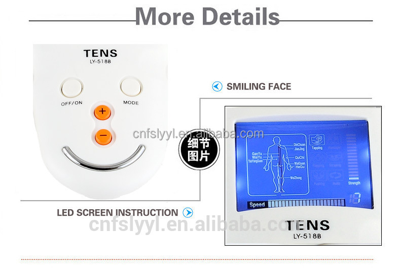 massage & relaxation acupuncture device biofeedback nerve and muscle stimulator
