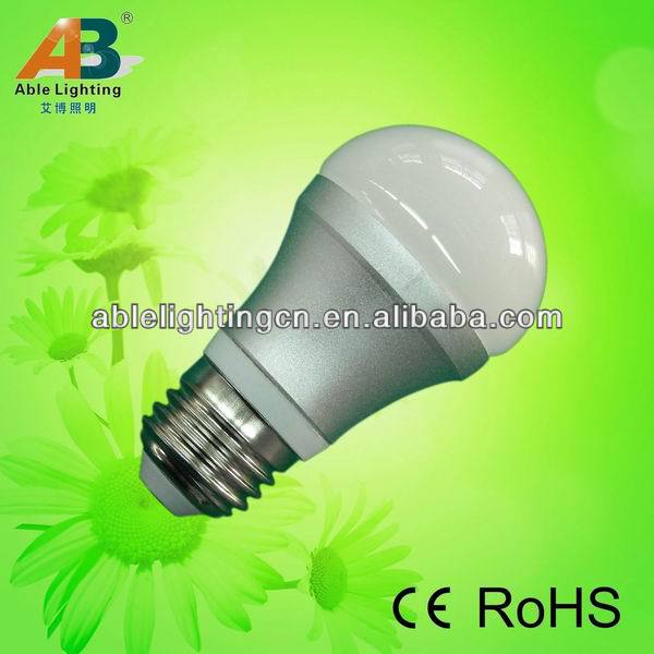 aluminum 3w 5050 21 smd CRI>80 e27 230v led global lighting