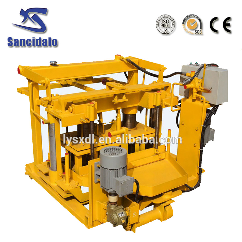 mobile egg laying block molder for sale