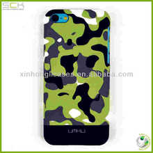 camouflage case for iphone 5c back cover housing