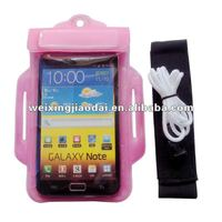 wrist mobile phone case for samsung galaxy note
