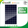 Bluesun poly solar panel 260w 260 watt solar panels for houses