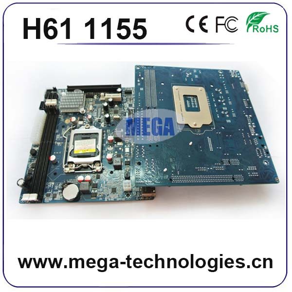 SATA port mini ITX type h61 lga 1155 motherboard wholesale