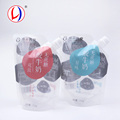 Alibaba Best Sellers Stand Up Yogurt Pouch Transparent Food Packaging With Spout