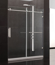 Y Series Bathroom Shower Design Swing Hinge Glass Frameless Stainless Steel Shower Cabin Enclosure Shower Room