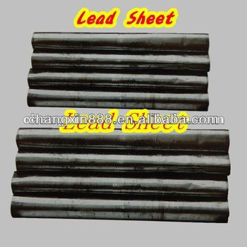 high quality lead sheet roll