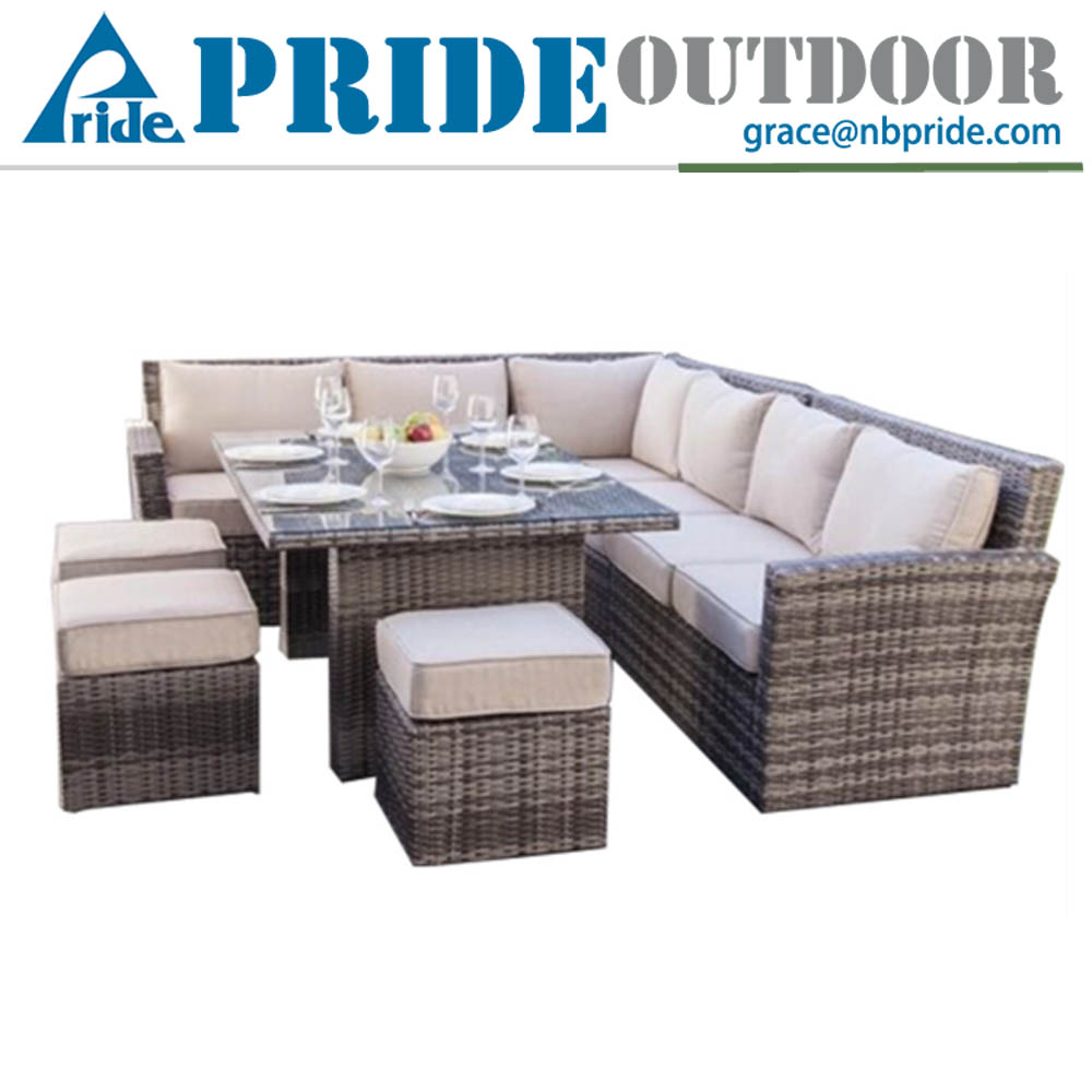 wicker rattan outdoor furniture garden 9 seater l shaped rattan living room modern sofa set buy modern sofa set9 seater sofa setrattan outdoor furniture