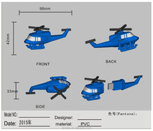 helicopter usb disk customize allpolo shirtUSB FLASH DRIVE wih number helicopter usb fash drive
