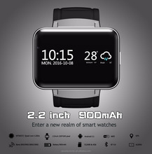 DEYI DM98 Smart Watch 2.2 Inch Android 4.4 OS 3G Smartwatch Phone MTK6572 Dual Core 1.2GHz 4GB