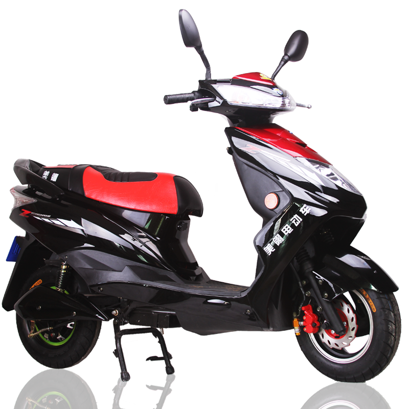 electric motocycle 800/1000w electric motorbike 60V fast speed electric moped 65km/h
