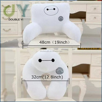 Custom Set of 2 Cute Cartoon Pattern Big Hero 6 Baymax U Neck Travel Pillow Chair Cushions Plush Figure Toy handmade cute neck