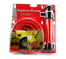 Inflator plastic hand operated oil pump manual oil siphon pump water pump
