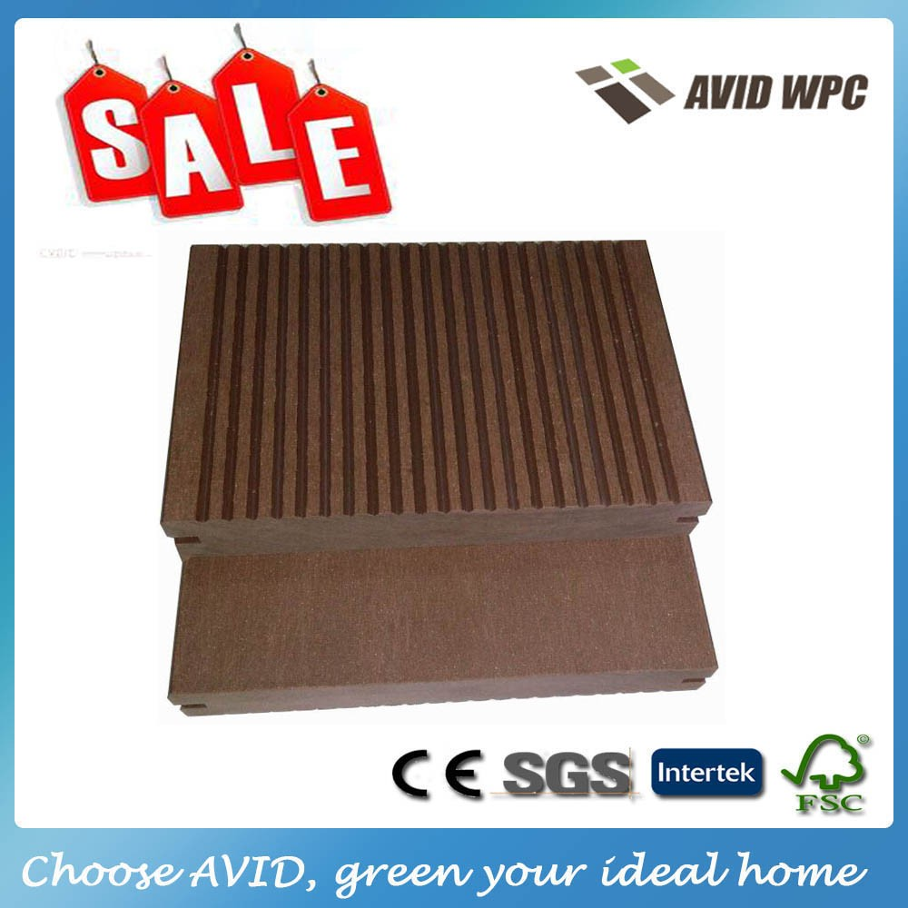 free sample cheap price solid wpc decking board
